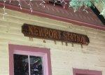 Newport station sign